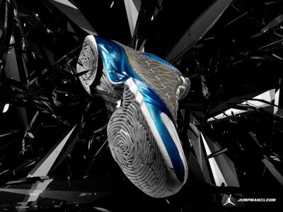 Air Jordan XX3 (23) Premier White/Titanium/University Blue