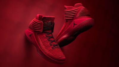 "Air Jordan 32 ""Rosso Corsa"""