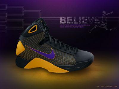 "Nike Hyperdunk ""Belive"""