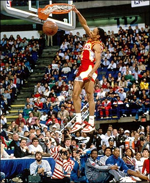 Spud Webb slam dunk champ