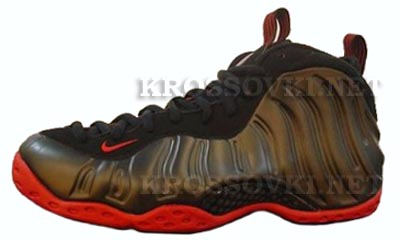 Nike Air Foamposite One-Black/Red
