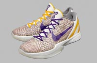 Nike Zoom Kobe VI 6 3D Lakers