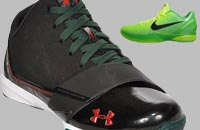 Under Armour Micro G Black Ice vs Nike Zoom Kobe VI 6)