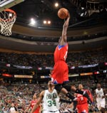 Jrue Holiday dunk - adidas adiZero Crazy Light 2