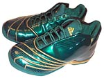 Adidas T-Mac II (2) LeBron James PE вид сверху