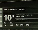 og Air Jordan 11 box lable