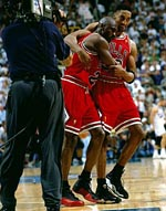 Michael Jordan Scottie Pippen Flu Game