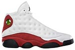 Air Jordan XIII 13 white/ red