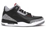 Jumpman Air Jordan III (3) Black cement