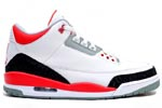 Jumpman Air Jordan III (3) fire red