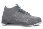 Jumpman Air Jordan III (3) Cool Grey Flip