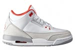 Jumpman Air Jordan III (3) Wolf Grey Flip
