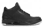 Jumpman Air Jordan III (3) Black Flip