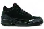 Jumpman Air Jordan III 3 Black Cat