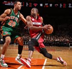Jared Jeffries VS Dwayne Wade