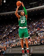 Ray Allen Christmas Day Game shot