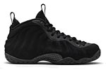 Nike Air Foamposite One Black Suede