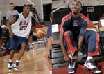 Kobe Bryant USA team training