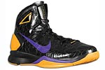 Nike Hyperdunk 2010 Lakers away PE