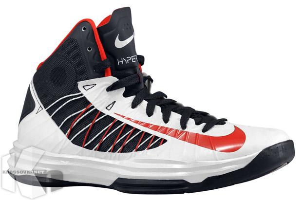 quality design 4245e c4df3 Nike Lunar Hyperdunk 2012 USA home