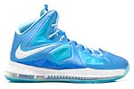 Nike Lebron X Blue Diamond