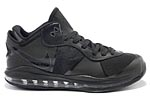 Nike LeBron VIII 8 V2 Low Triple Black