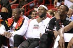 Miami Heat: Dwayne Wade, LeBron James, Chris Bosh