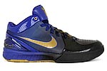 Nike Zoom Kobe IV 4 Gradient Lakers away