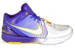 Nike Zoom Kobe IV 4 Gradient Lakers home