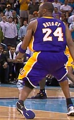 Kobe Bryant ankle injury