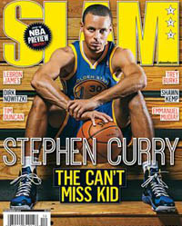 Steph Curry - SLAM Cover