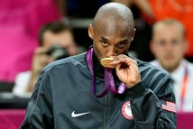 kobe Bryant 2nd olympic gold medal (London 2012)