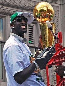 KG with trophy